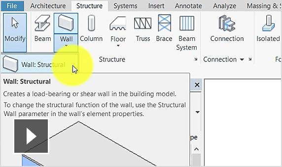 Tạo tường kết cấu