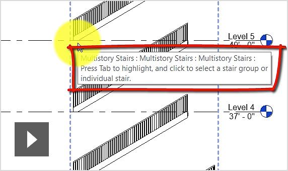Tạo cầu thang đa tầng