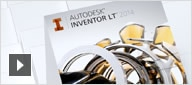 Inventor LT offers powerful part-level parametric modeling, multi-CAD translation, DWG™ drawing views, and CAD capabilities