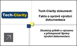 Tech-Clarity dokument: Fakta o správě výrobní dokumentace (čeština)