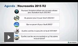 Nouveautés Autodesk Vault 2015 R2