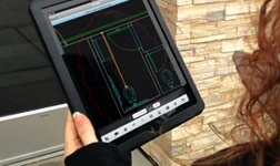 AutoCAD 360 for site visits