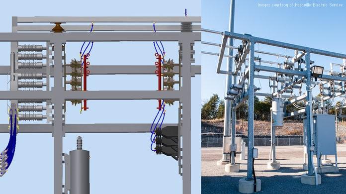 Nashville electric service bim case study autodesk for Substation design