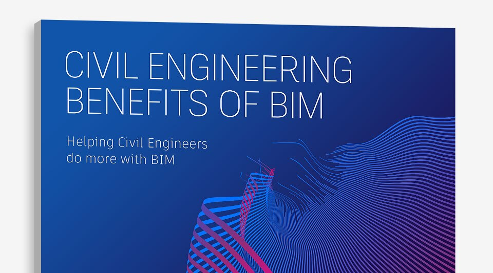 Report cover that reads 'Civil Engineering Benefits of BIM'