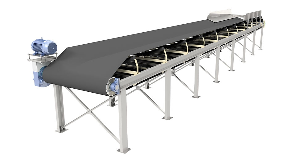 "3D design of a conveyor using Inventor sof In ""Product configuration"" panel, replace Inventor Professional with: Inventor"