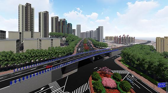 Hengsheng Avenue Interchange Node