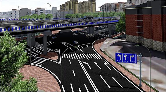 Hongshi Avenue Interchange Node