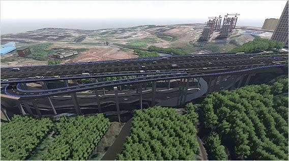 Widening Bridge of Huaxi River Node