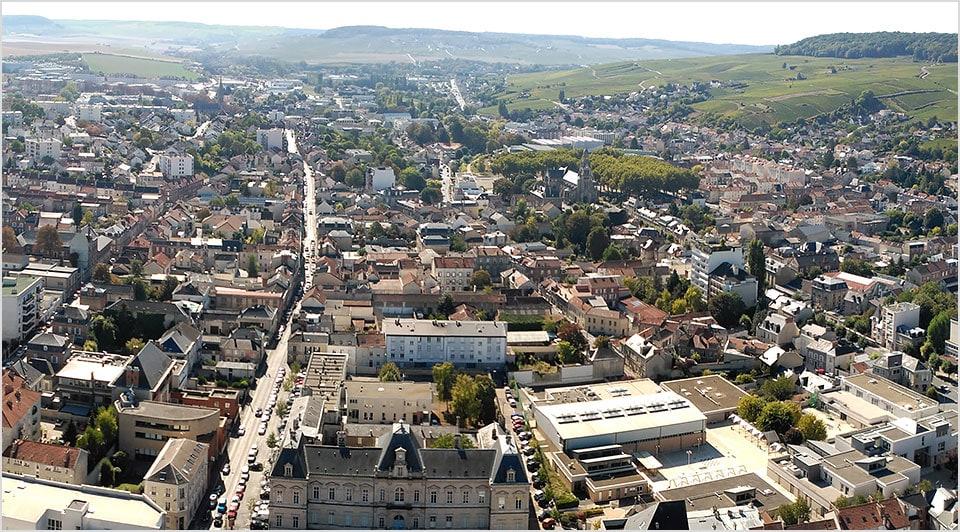 Historic Champagne region, France