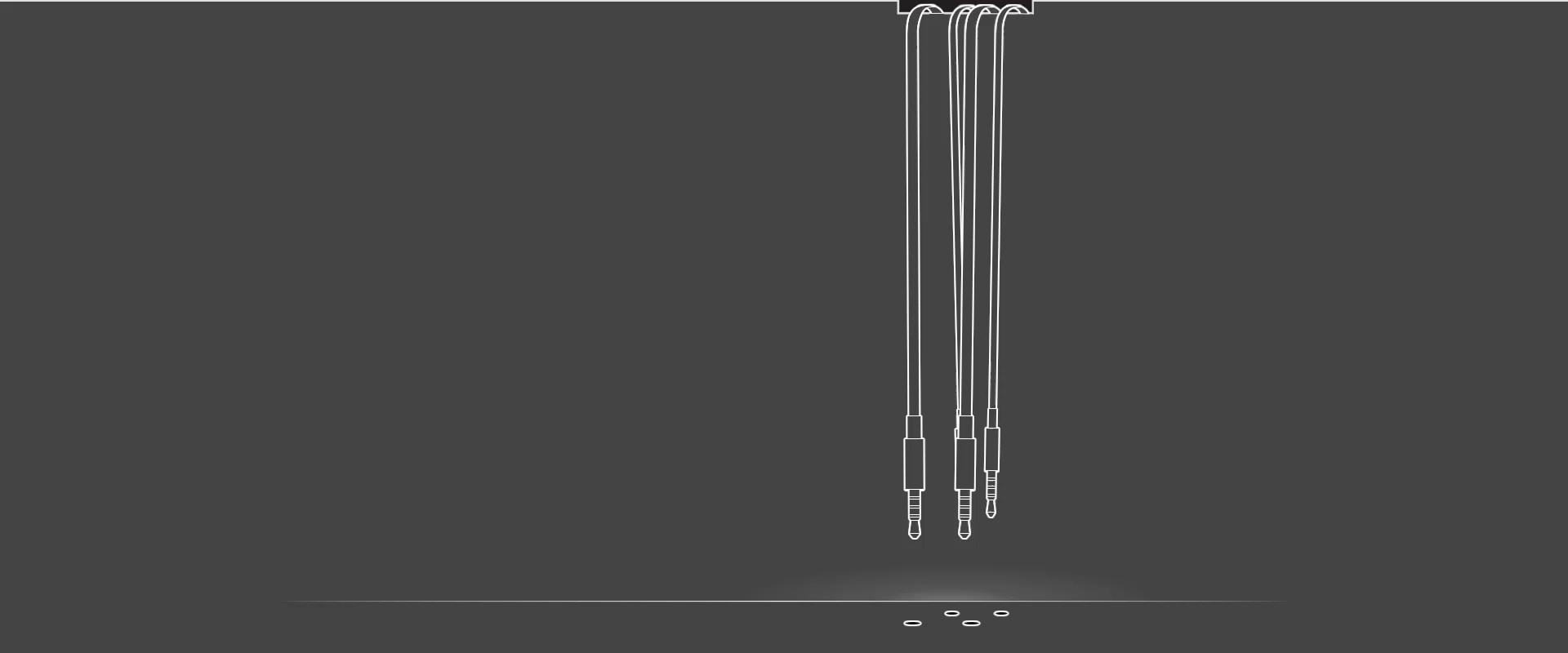 Animation of headphone jacks