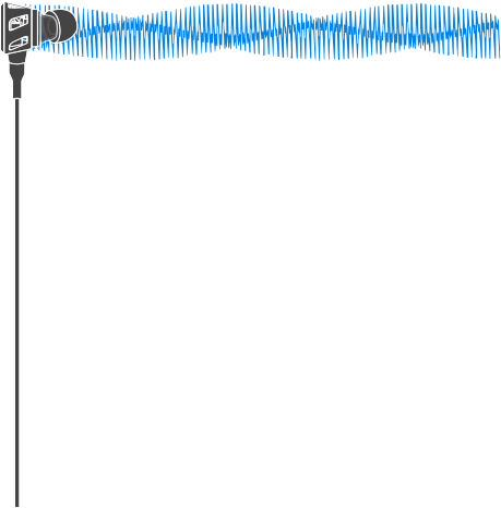 Diagram of Asius's earbuds with synthetic eardrum