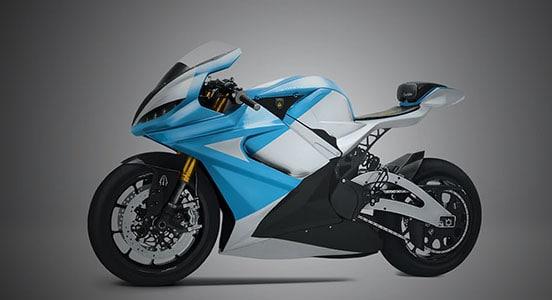 3D建模制图软件进行电动摩托车设计