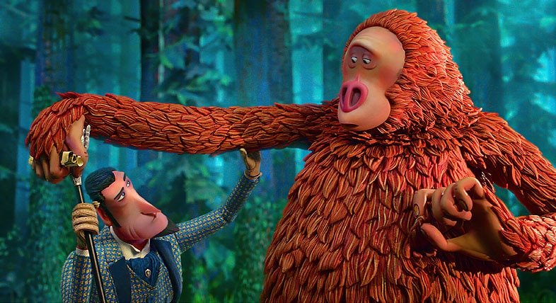 Stop-motion animated Sasquatch from LAIKA's adventure comedy film
