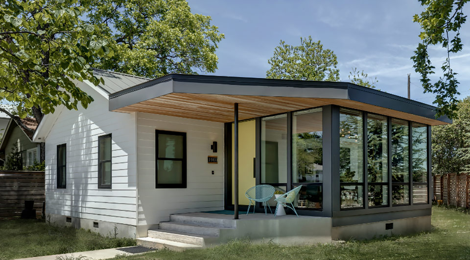 Exterior Interlock House