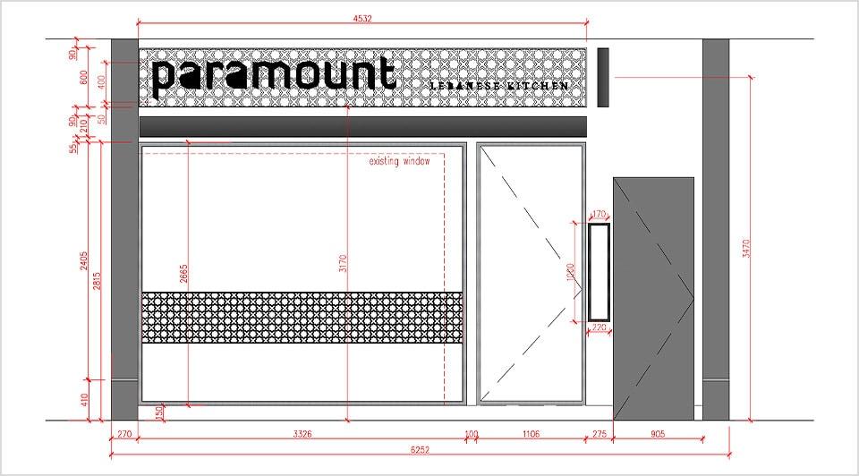 Garden design plans in AutoCAD