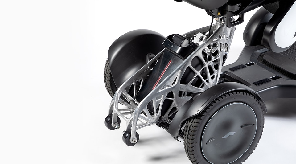 WHILL | Lightweighting Wheelchairs With Generative Design