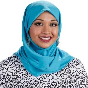 A picture of presenter Tauhira Ali
