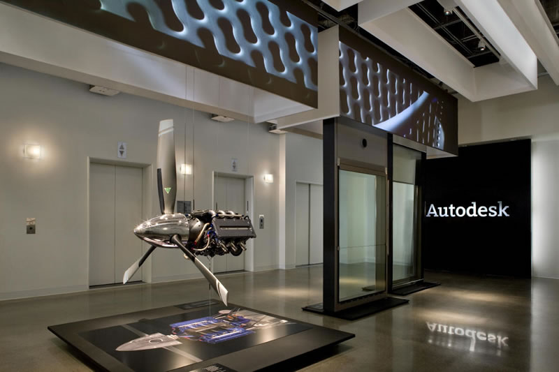 San Francisco Briefing Center | Autodesk Gallery