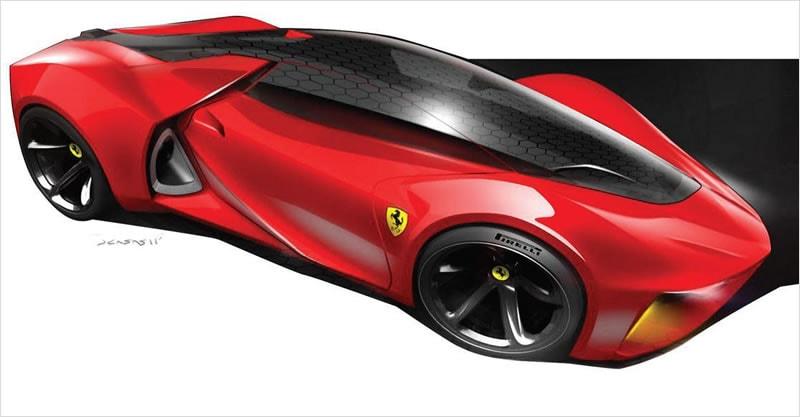 Autodesk Gallery Exhibits Ferrari Of The Future