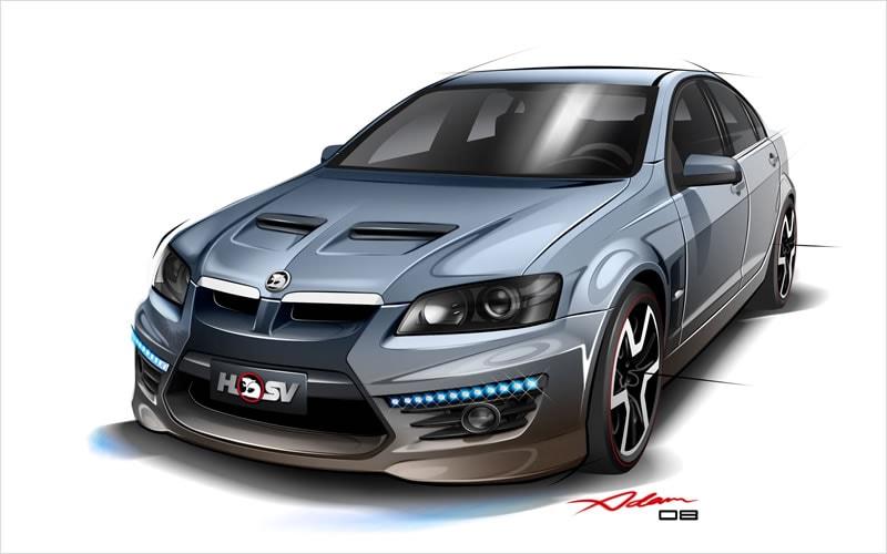 Autodesk | The Gallery | Performance Car Design