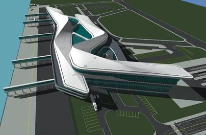 Autodesk The Gallery Tianjin Cruise Terminal Ccdi