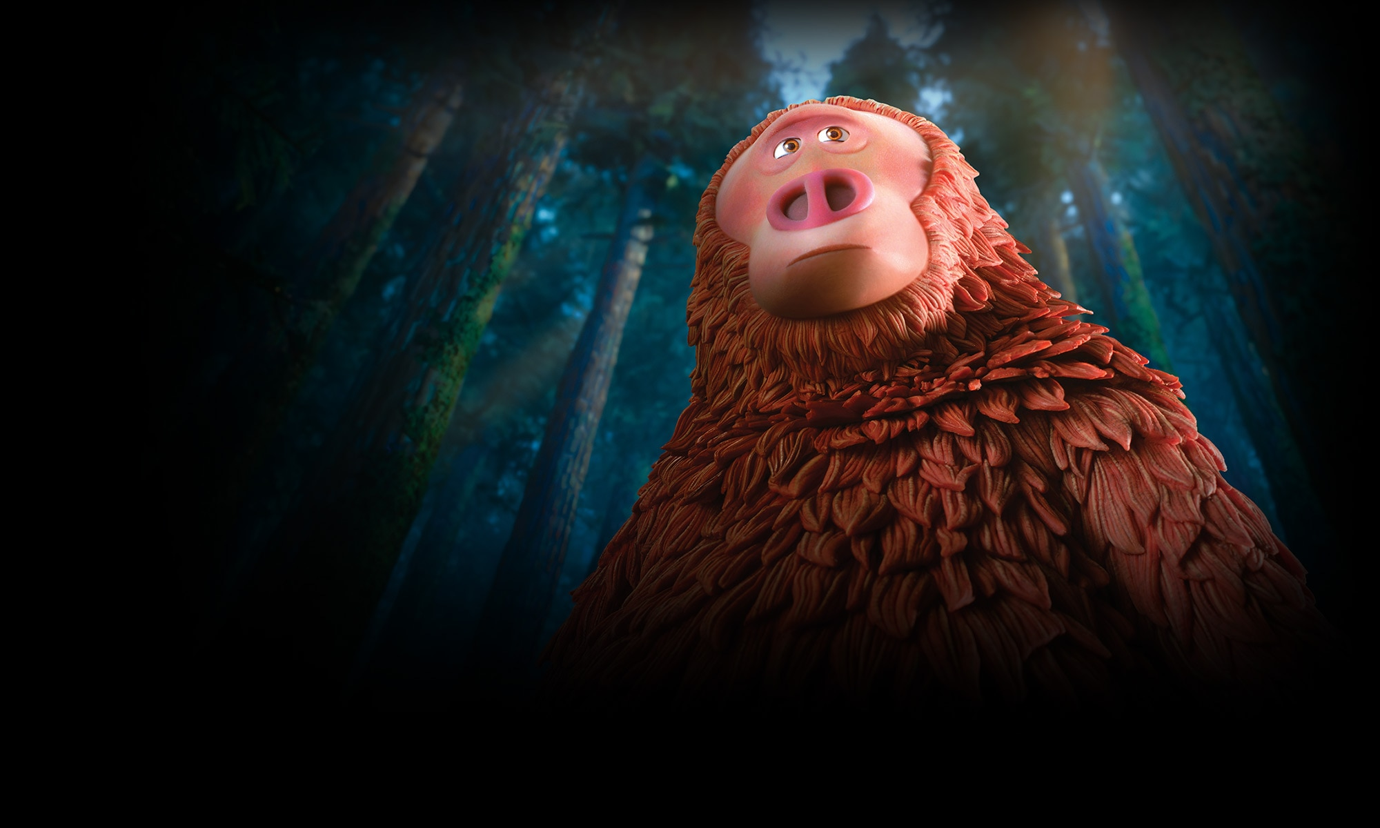 Still from the film Missing Link. Image courtesy of LAIKA.