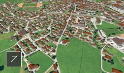 planling uses urban planning software to generate 3D models