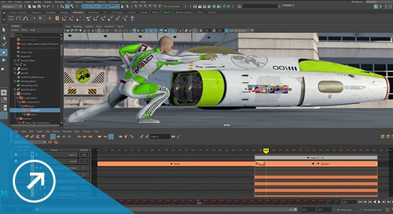 Maya software time editor for editing animation