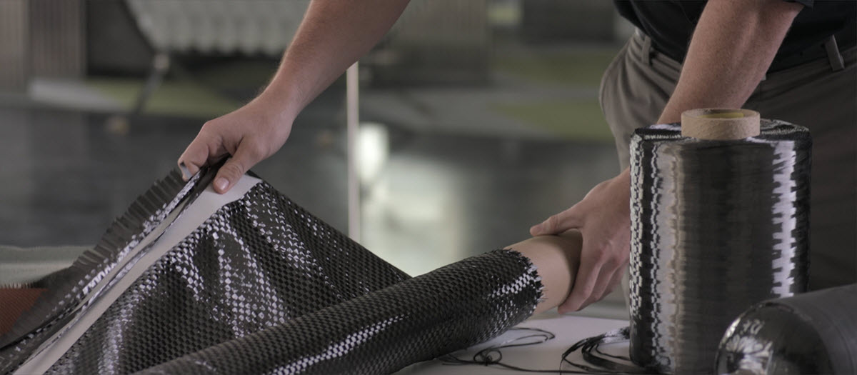 Carbon fiber replaces traditional materials for lightweighting
