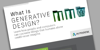 What is Generative Design? Infographic