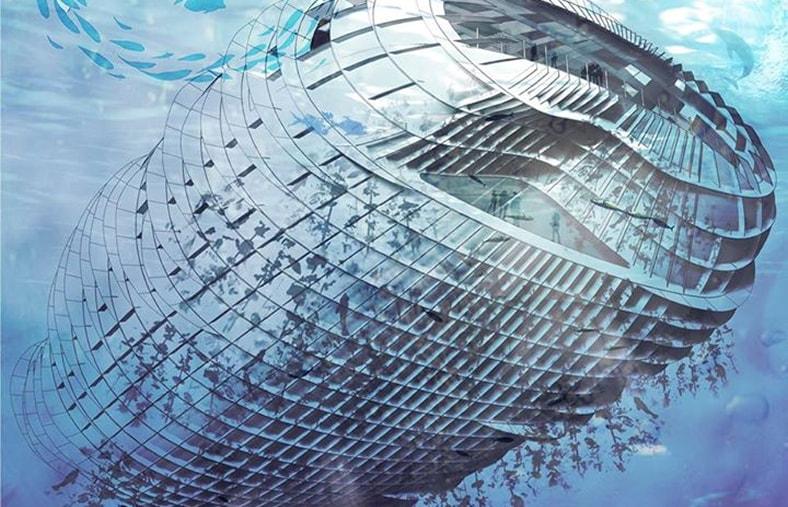 Floating workshop design developed for the Pier 9 workshop by CCA students