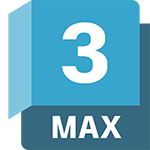 3ds Max product badge