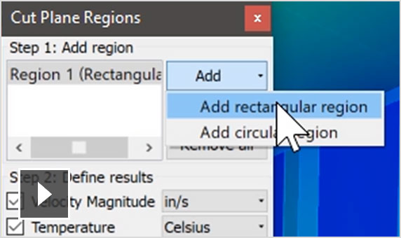 Video: Customizable user-defined plane to display averaged result maps.