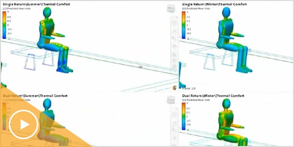 Video: CFD thermal modelling for AEC