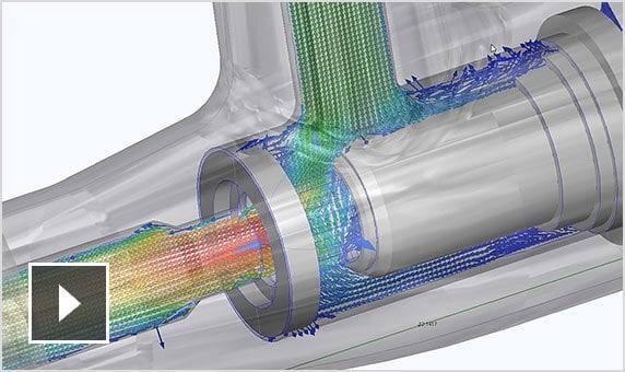 Video: Autodesk CFD visualizes how fluids flow through part designs