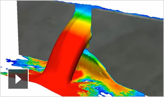 Video: Autodesk CFD simulates free surface movement of liquids and gases
