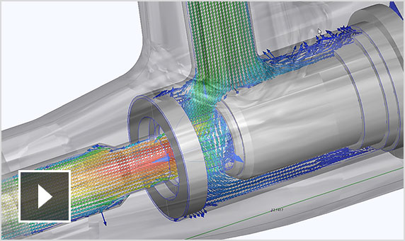 Video: Autodesk CFD visualizes how fluids flow through part designs