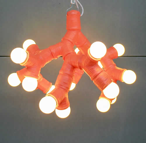 Home Depot twin socket pendant light created by Autodesk advertising