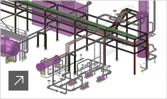Interopérabilité avec AutoCAD Plant3D