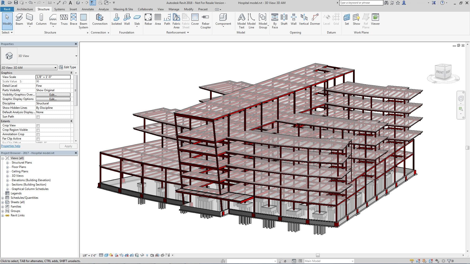 Generate Floor Plan Structural Steel Design Advance Steel 2018 Autodesk