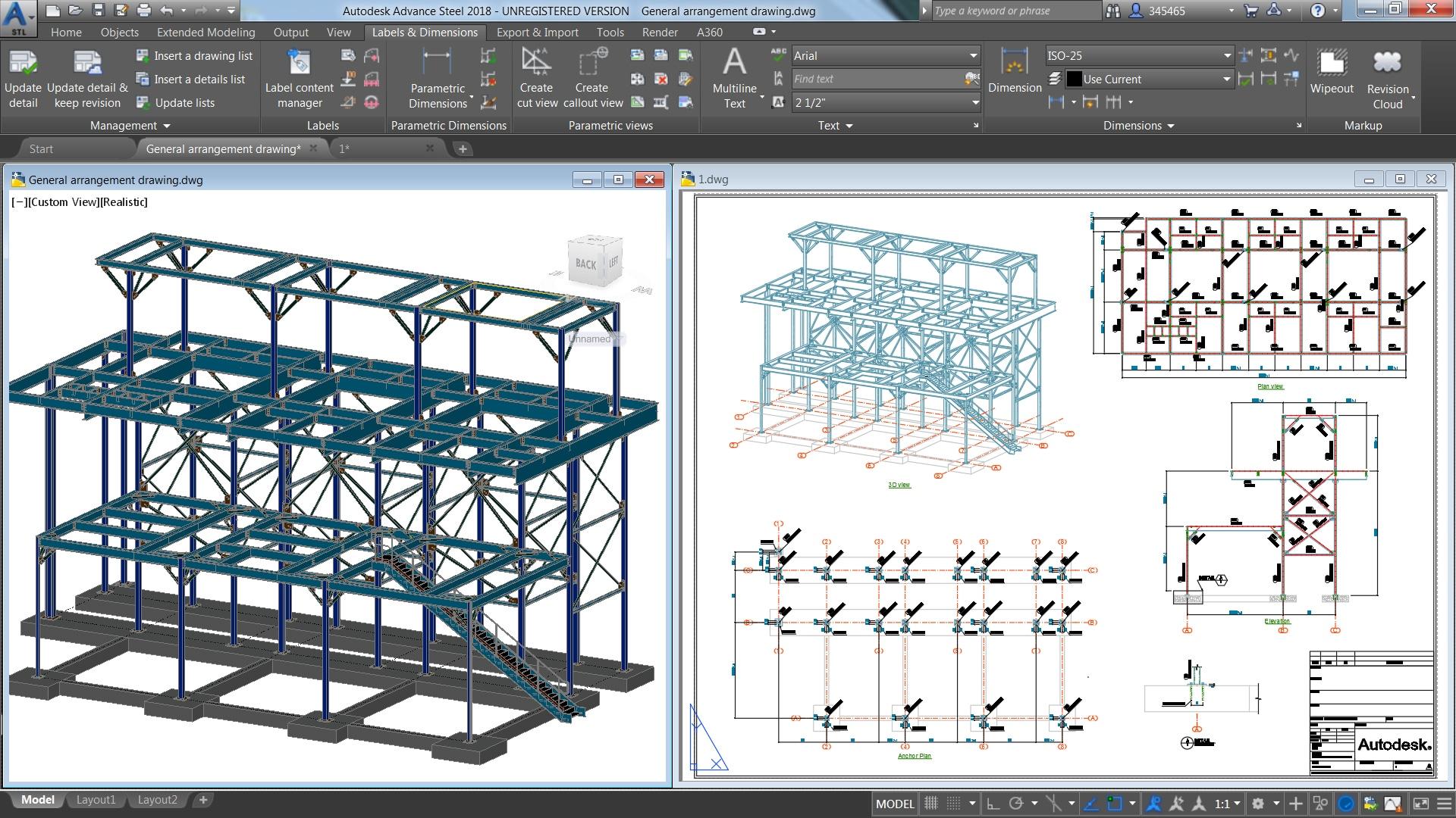 Structural Steel Design Advance Steel Features Autodesk