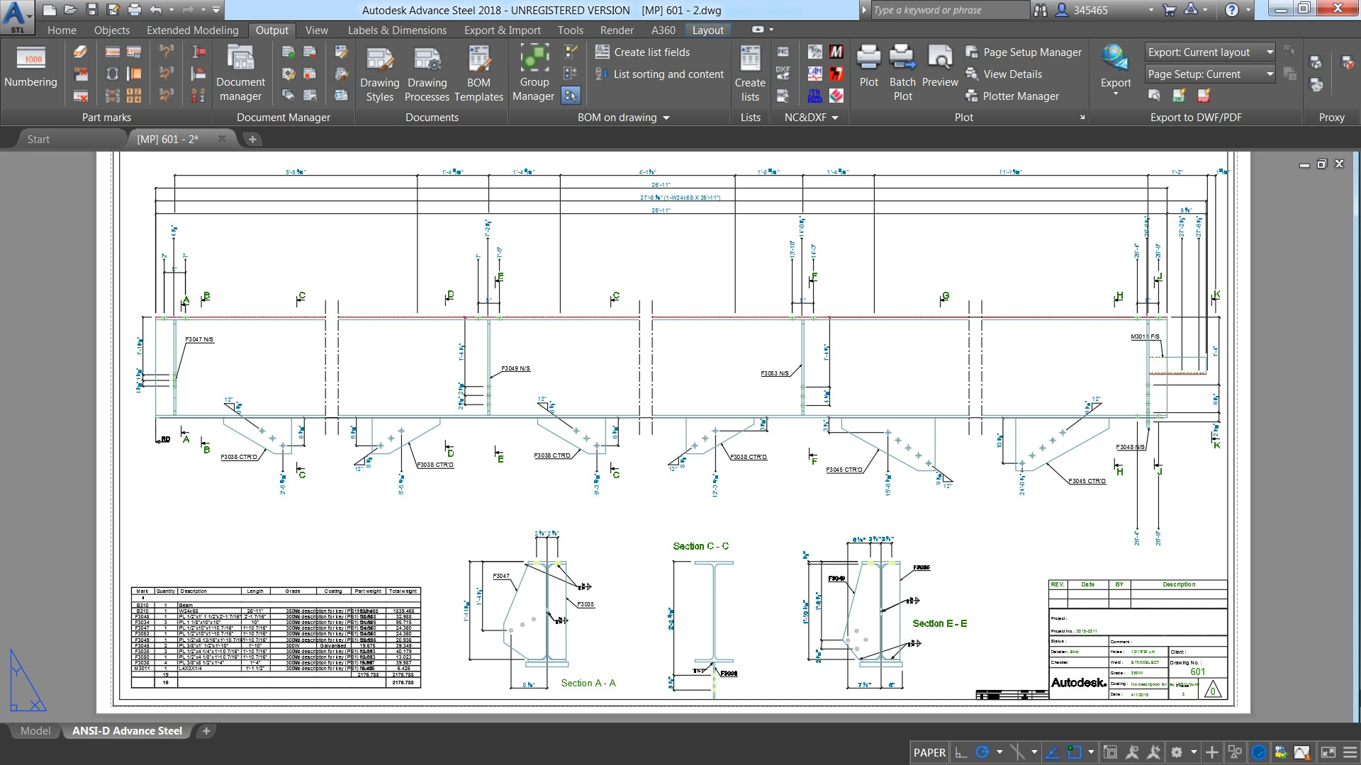 Advance steel steel detailing software autodesk Blueprint designer free