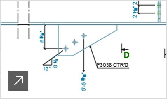 Plans d'exécution de structures en acier