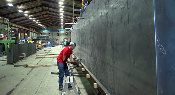 Video: Canada's Steelway Building Systems engineers speak of the benefits of using Advance Steel detailing software