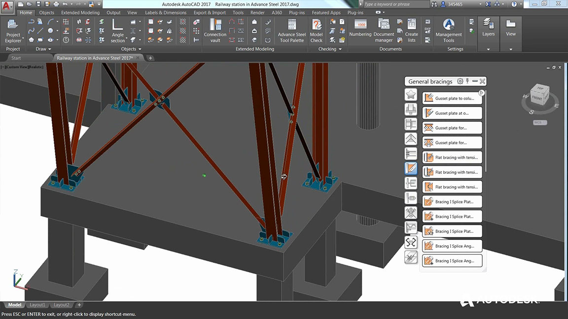 Autodesk Advance Steel 2018 Buy Online
