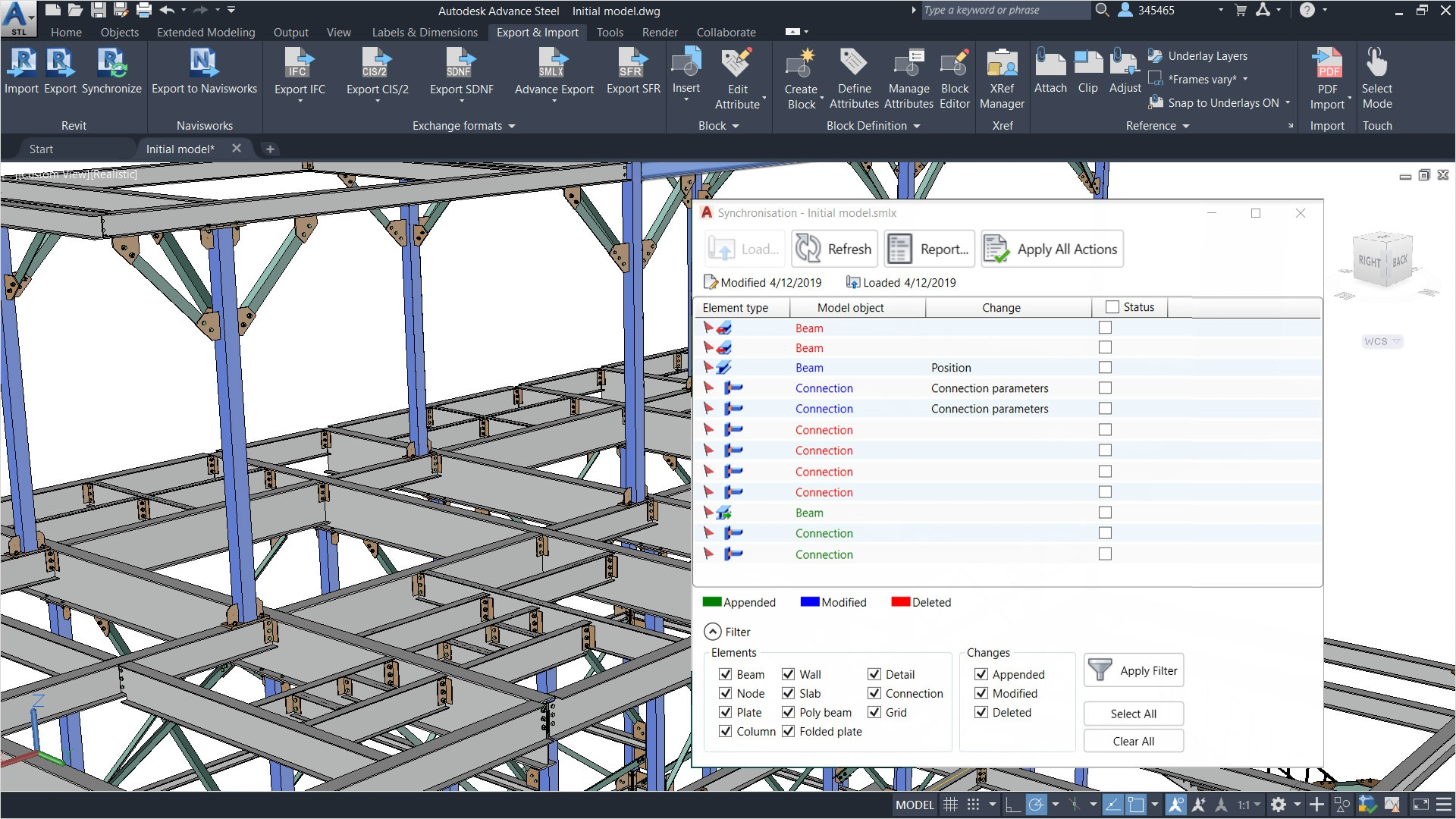 Advance Steel Structural Steel Design Autodesk Official