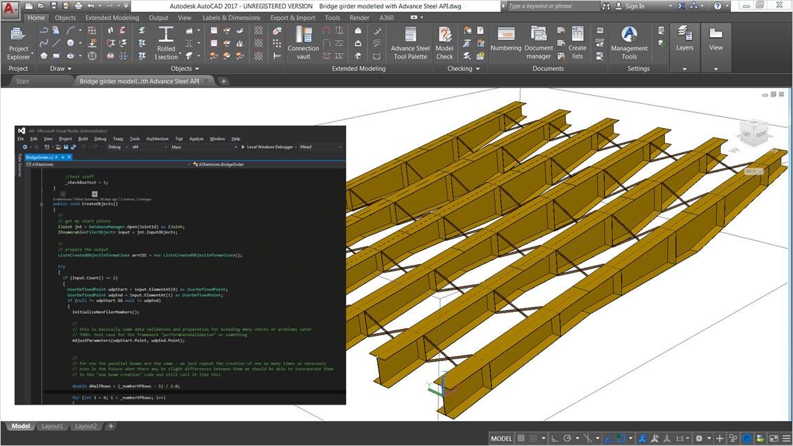 Autodesk Advance Steel | Steel Detailing Software | Kanisco