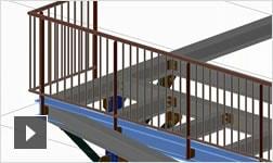 Vidéo: présentation du logiciel de création de plans de détail, de construction et de fabrication Advance Steel