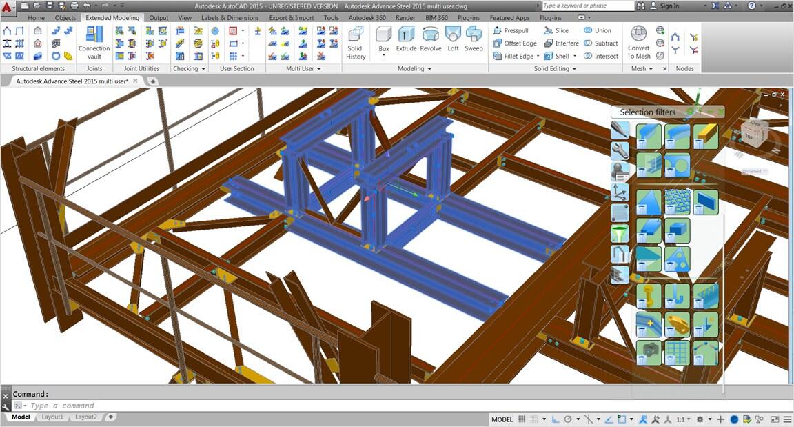 autodesk advance steel bimarabia. Black Bedroom Furniture Sets. Home Design Ideas