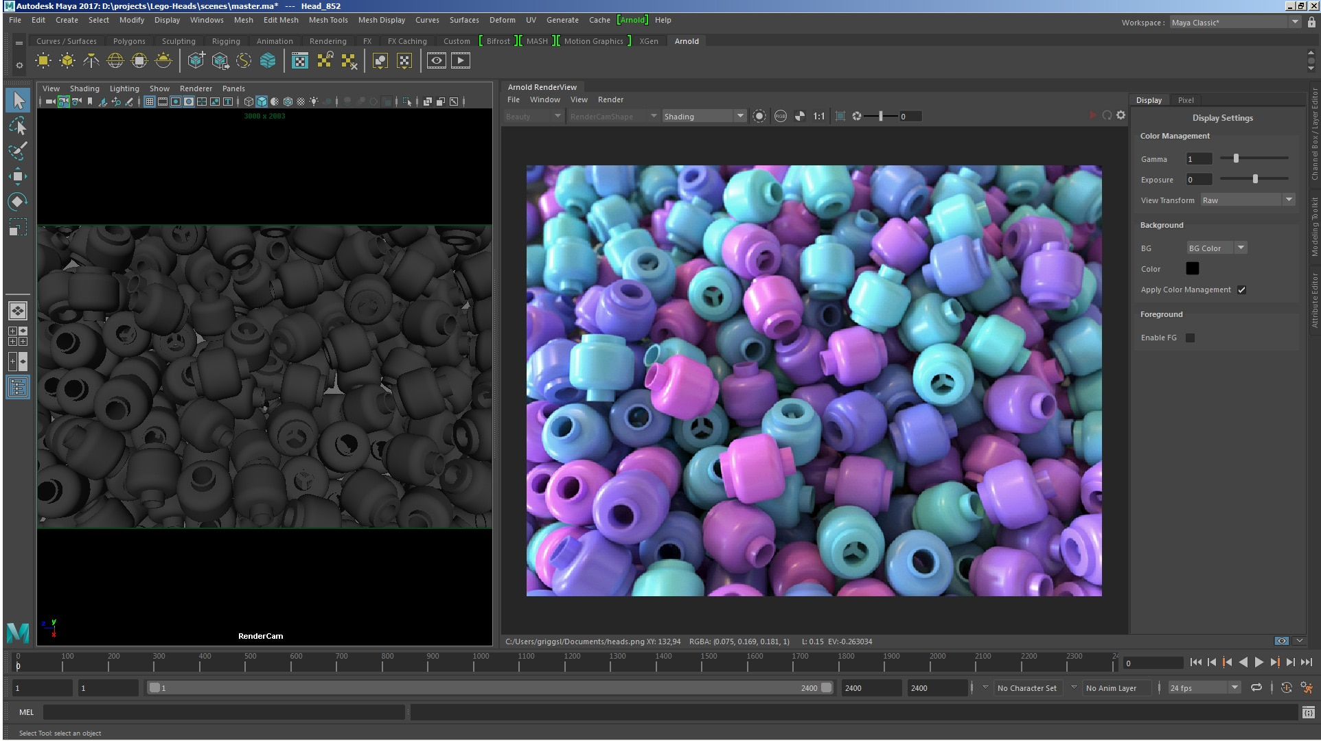 Arnold Raytracing Renderer Features | Autodesk